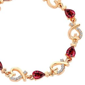 Jewelry - New! Gold heart bracelet